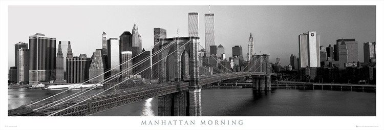 GBEYE Plakát Manhattan - morning , (158 x 53 cm)