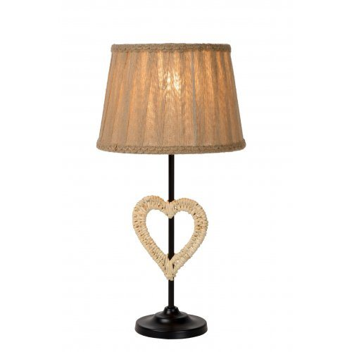 LUCIDE SHIRLY Table Lamp Heart E27, stolní lampa