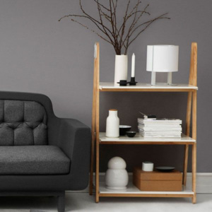 Normann Copenhagen Knihovna One step up Bookcase (malá)