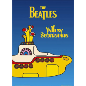 Plakát, Obraz - Beatles - yellow submarine, (61 x 91,5 cm)