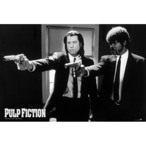 Plakát, Obraz - Pulp fiction - guns, (91,5 x 61 cm)
