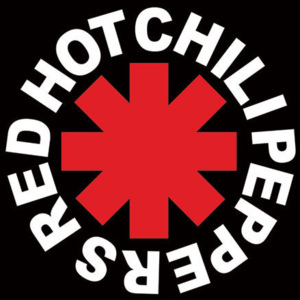 Plakát, Obraz - Red hot chili peppers -logo, (61 x 91 cm)