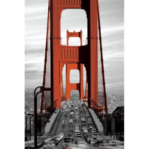 Plakát, Obraz - San Francisco - golden gate bridge, (61 x 91,5 cm)