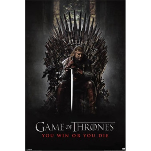 Plakát, Obraz - GAME OF THRONES - you win or you die, (61 x 91,5 cm)