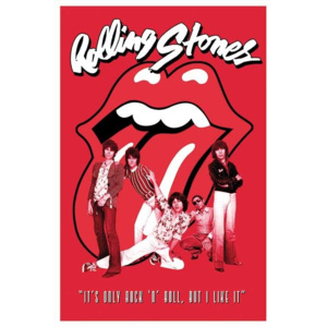 Plakát, Obraz - Rolling Stones - it's only Rock n roll, (61 x 91,5 cm)