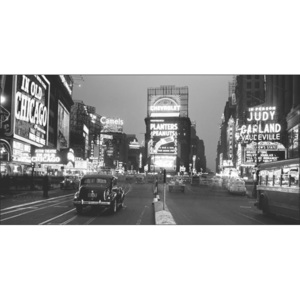 Obraz, Reprodukce - New York - Times Square illuminated by large neon advertising signs, PHILIP GENDREAU, (140 x 70 cm)