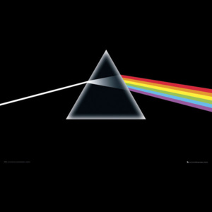 Plakát, Obraz - Pink Floyd - Dark Side of the Moon, (91,5 x 61 cm)