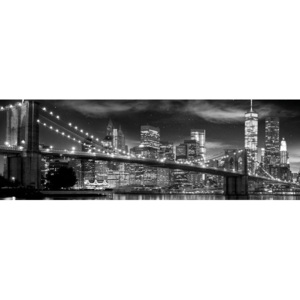 Plakát, Obraz - New York - Freedom Tower (B&W), (158 x 53 cm)