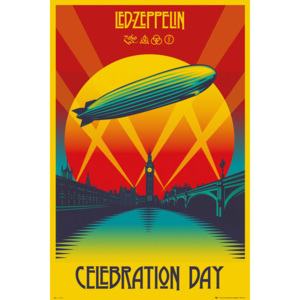 Plakát, Obraz - Led Zeppelin - Celebration Day, (61 x 91,5 cm)