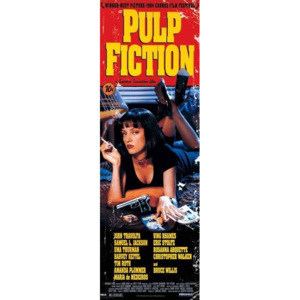 Plakát, Obraz - PULP FICTION - cover, (53 x 158 cm)