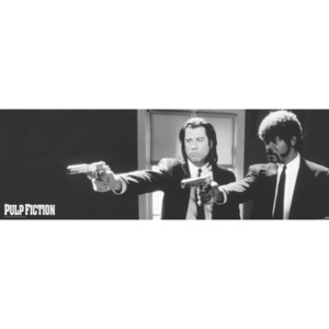 Plakát, Obraz - Pulp fiction - guns, (158 x 53 cm)