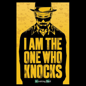 Plakát, Obraz - BREAKING BAD - i am the one who knocks, (61 x 91,5 cm)