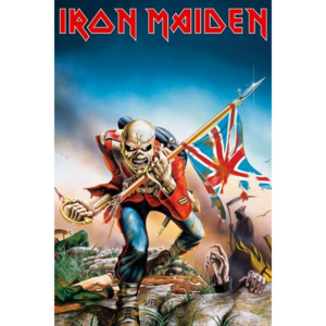 Plakát, Obraz - IRON MAIDEN - trooper, (61 x 91,5 cm)