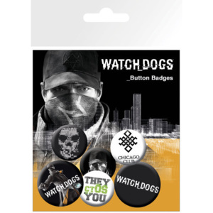 Placka Watch dogs – aiden