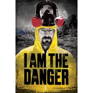 Plakát, Obraz - BREAKING BAD - i am the danger, (61 x 91,5 cm)