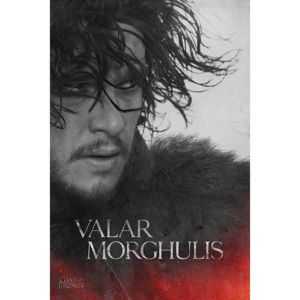 Plakát, Obraz - Hra o Trůny - Game of Thrones - Jon Snow, (61 x 91,5 cm)