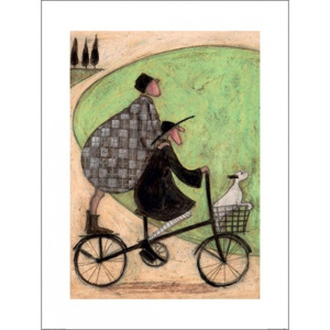 Obraz, Reprodukce - Sam Toft - Double Decker Bike, (60 x 80 cm)