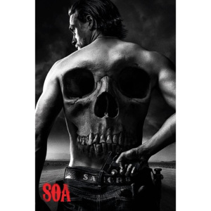 Plakát, Obraz - Sons of Anarchy (Zákon gangu) - Jax Back, (61 x 91,5 cm)