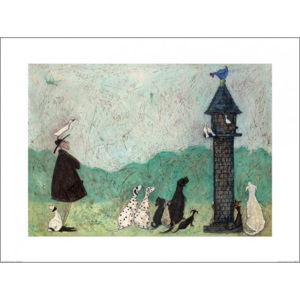 Obraz, Reprodukce - Sam Toft - An Audience with Sweetheart, (80 x 60 cm)