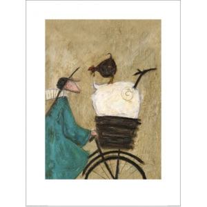 Obraz, Reprodukce - Sam Toft - Taking the Girls Home, (60 x 80 cm)