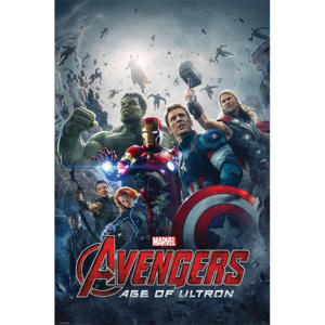 Plakát, Obraz - Avengers: Age Of Ultron - One Sheet, (61 x 91,5 cm)