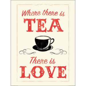 Obraz, Reprodukce - Anthony Peters - Where There is Tea There is Love, (60 x 80 cm)