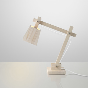 Lampa Wood 50 cm, borovice