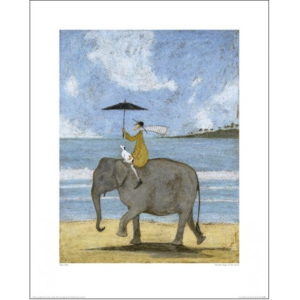 Obraz, Reprodukce - Sam Toft - On The Edge Of The Sand, (40 x 50 cm)