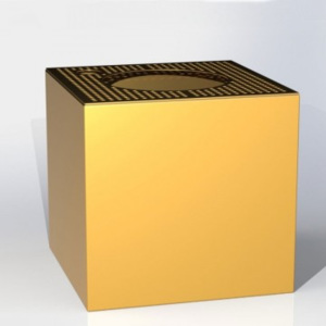 Cube Fully Gold komplet - 30x30x30cm