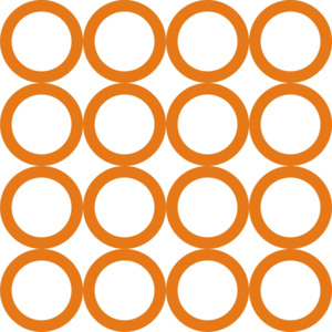 Tapety Rings circles Orange