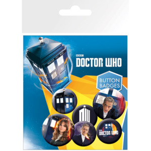 Placka Doctor Who - New