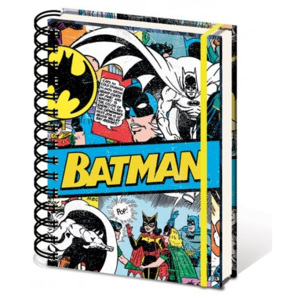 DC Comics A5 notebook - Batman Retro Zápisník