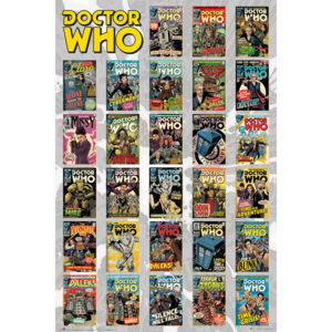 Plakát, Obraz - Doctor Who - Comics Compilation, (61 x 91,5 cm)