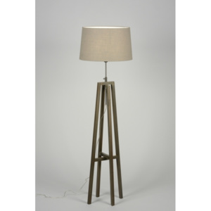 Stojací lampa Paola Brown and Olive