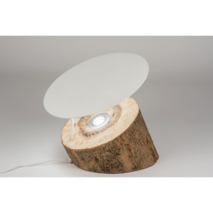 Stolní LED lampa Naturo Wood