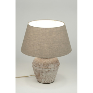 Stolní lampa Soave Taupe