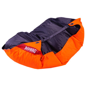 Beanbag Sedací vak 189x140 duo fluo orange - licorice