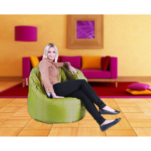 Beanbag Sedací vak Chair green frog