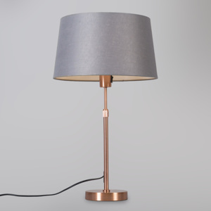 Stolní lampa Partoll Dark Grey and Cooper