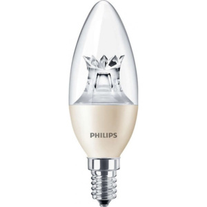 MASTER LEDcandle DT 8-60W E14 827 B40 CL - Philips