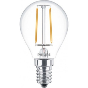 FILAMENT Classic LEDluster ND 2-25W E14 827 P45 - Philips