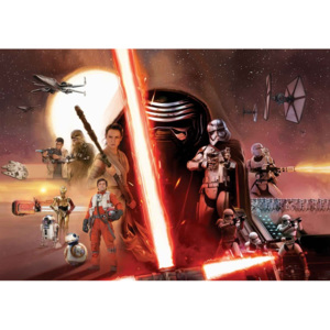 Fototapeta, Tapeta Star Wars Force Awakens, (104 x 70.5 cm)