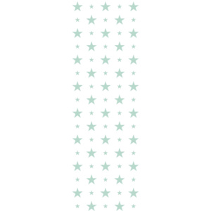 Tapety White & Mint 15 cm and 7 cm Stars