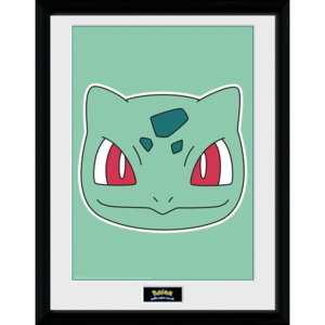 Obraz na zeď - Pokemon - Bulbasaur Face