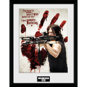 Obraz na zeď - The Walking Dead - Daryl Bloody Hand