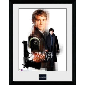 Obraz na zeď - Sherlock - Friends Protect