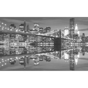 Fototapeta, Tapeta New York Brooklynský most, (152.5 x 104 cm)