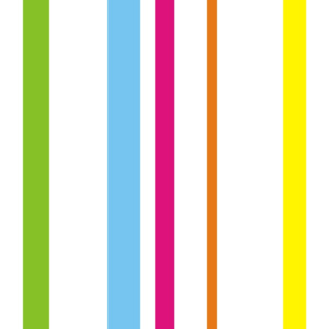 Tapety Vertical Stripes 3-10cm Colorful
