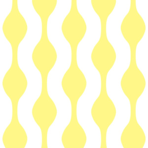Tapety Vertical Waves 16,8 cm Yellow & White