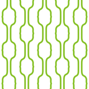 Tapety Vertical Waves 16,8 cm Green & White